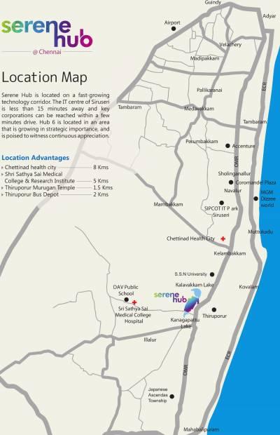 Images for Location Plan of Serene Hub Villas