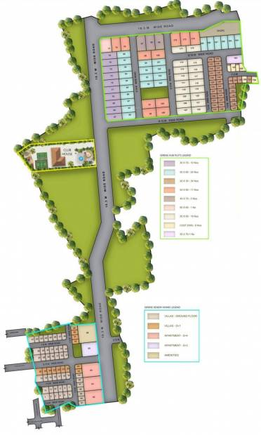 Images for Master Plan of Serene Hub Villas