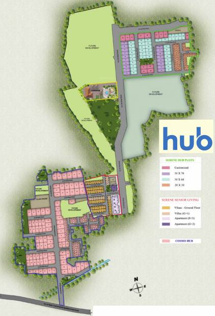 Images for Master Plan of Serene Hub Apartments