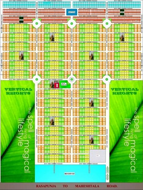 Images for Master Plan of Vriddhi Fresco Palm City Villas