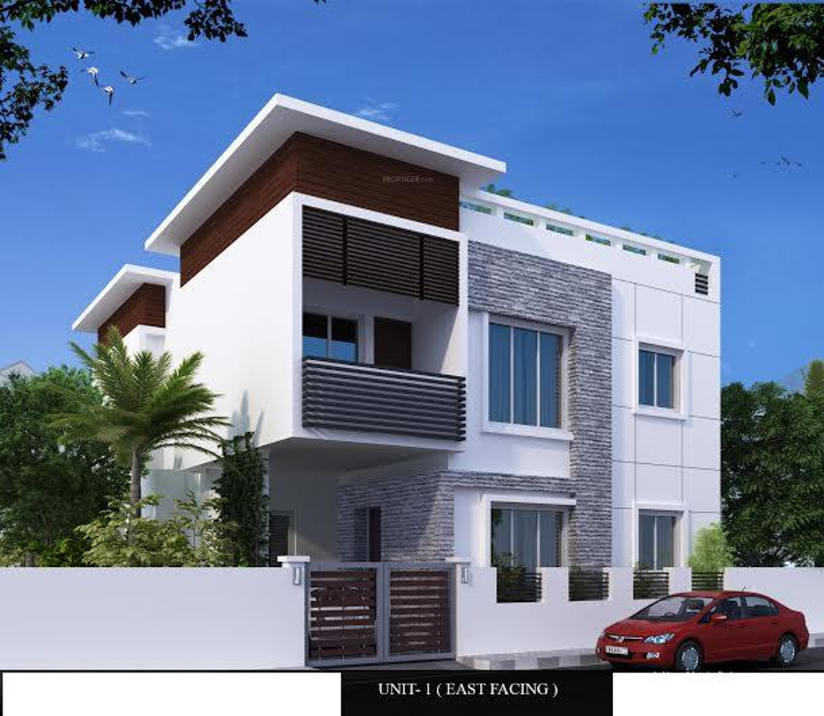 1262 Sq Ft 3 BHK 3T Villa For Sale In Aara Properties Twin