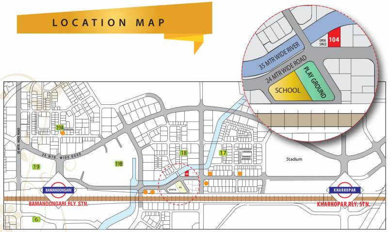 Images for Location Plan of Sarang Krishna Sarang Galaxy