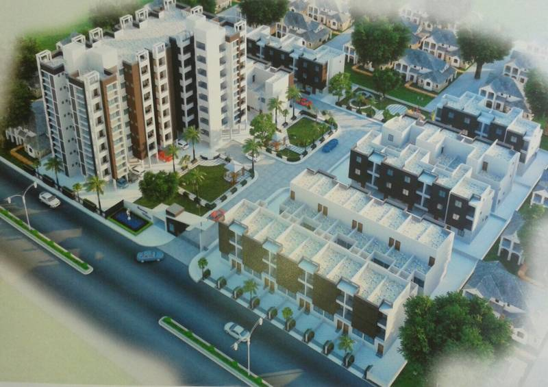 Images for Elevation of Charoliya Roop Villa