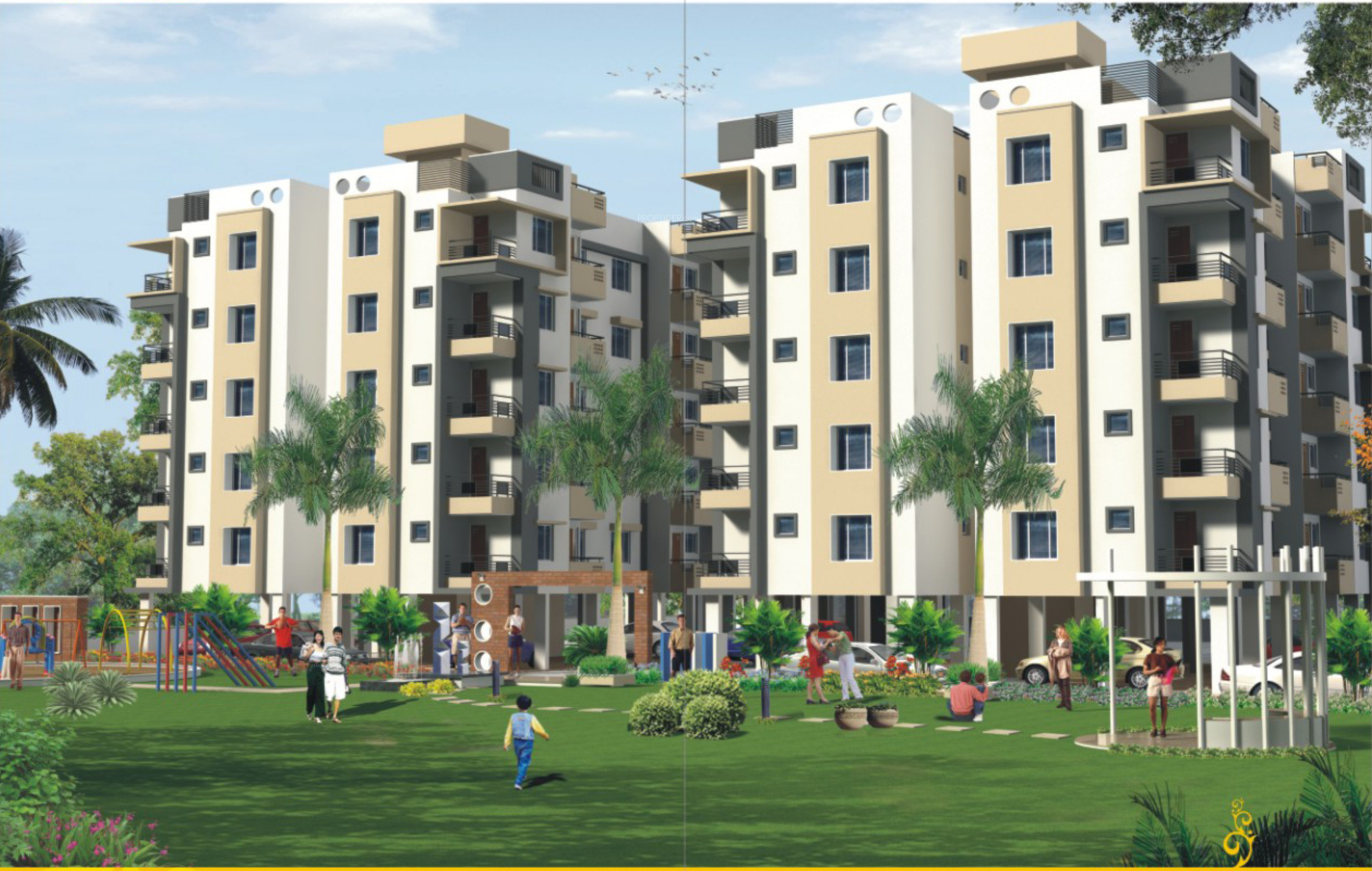 711 sq ft 1 bhk 1t apartment for sale in dev group india - India exotica ...