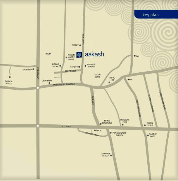aakash-residency Images for Location Plan of Goyal Aakash Residency