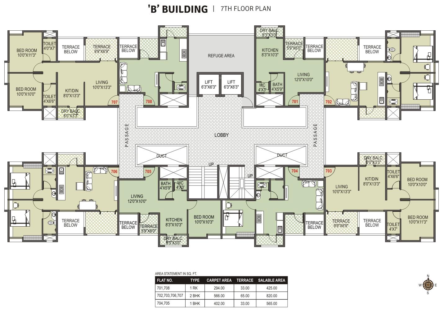 Old Age Home Design Floor Plan