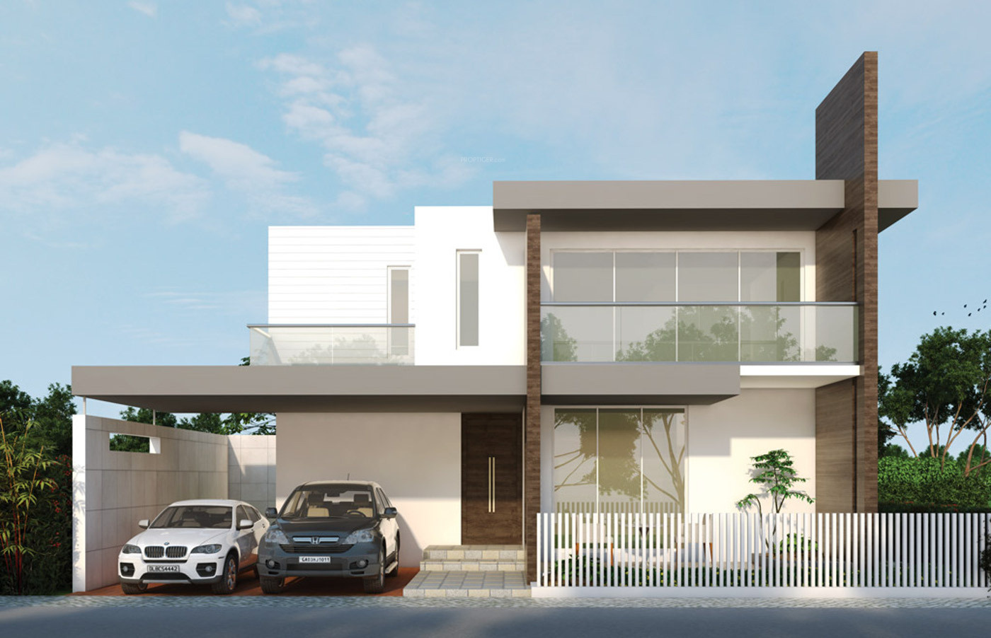 Main elevation image 3 of pmr group parkwood unit for Ashoka ala maison kompally