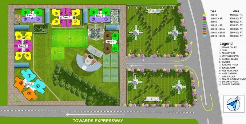Images for Site Plan of Shantiniketan Prakriti