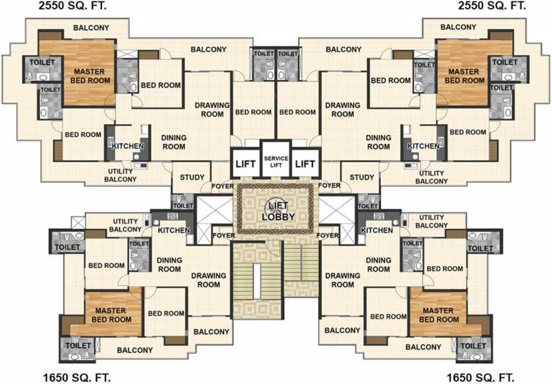 Images for Cluster Plan of Shantiniketan Prakriti