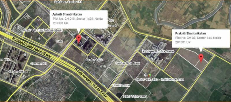 Images for Location Plan of Shantiniketan Prakriti