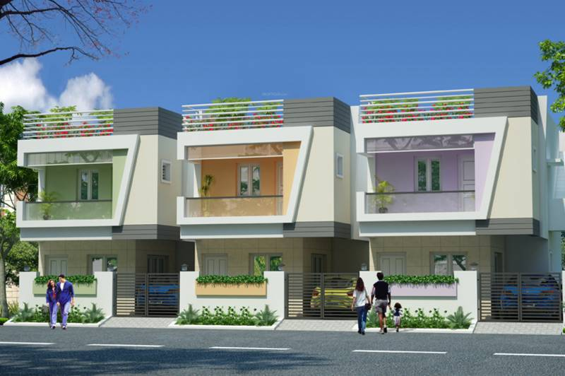 Images for Elevation of MS Sunny Villas