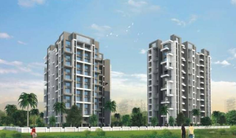 twin-towers Images for Elevation of Shraddha Twin Towers