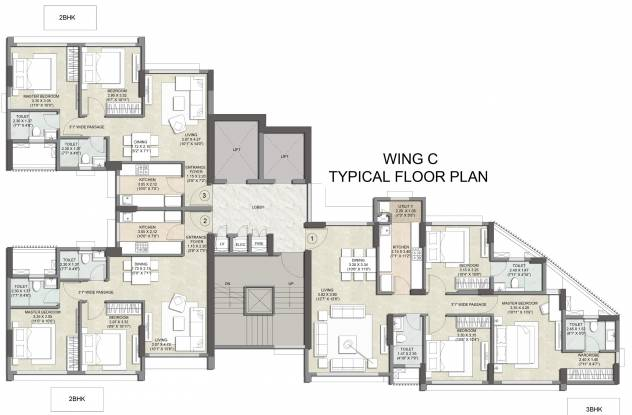 Images for Cluster Plan of  Primus Residences