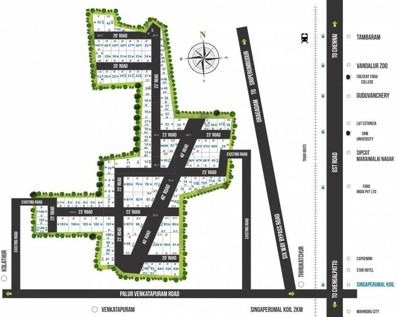 Images for Layout Plan of Value City SG Avenue