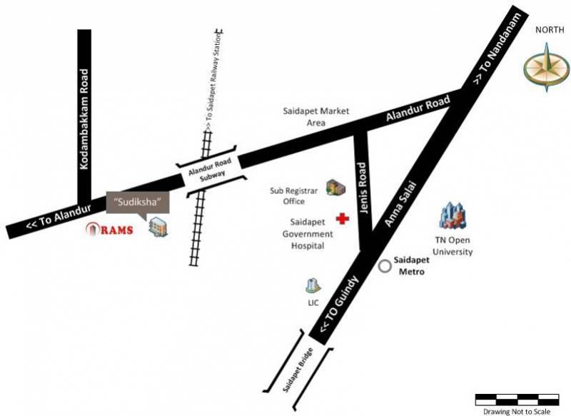 sudiksha Images for Location Plan of Rams Sudiksha