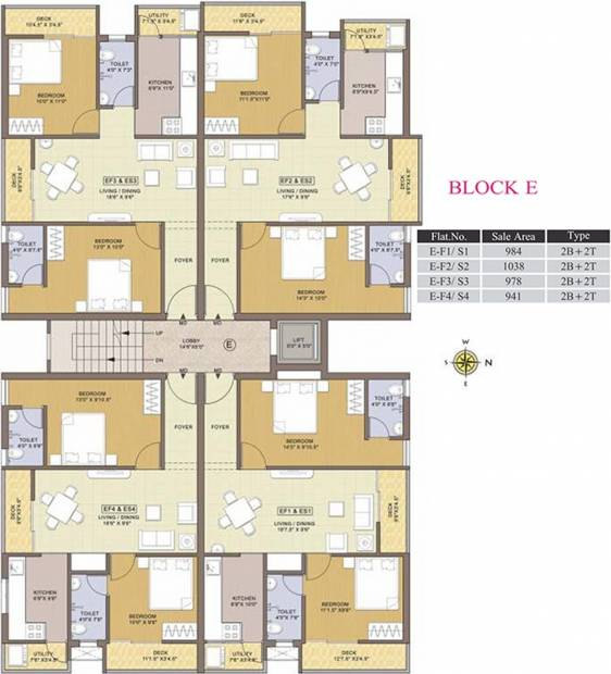 Images for Cluster Plan of Colorhomes Avenue