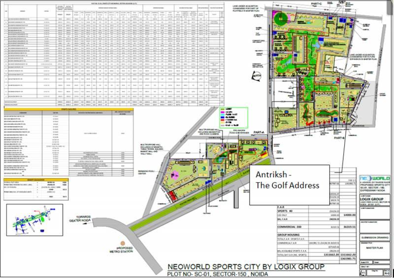 Images for Master Plan of The Antriksh The Golf Address Villas