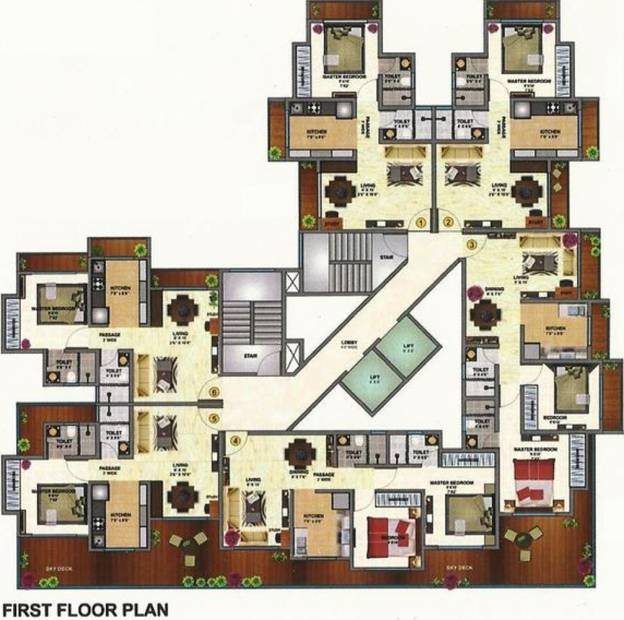 Images for Cluster Plan of Daichi Infra LLP Aabiel Paradise