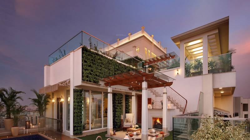 sky-villas Elevation