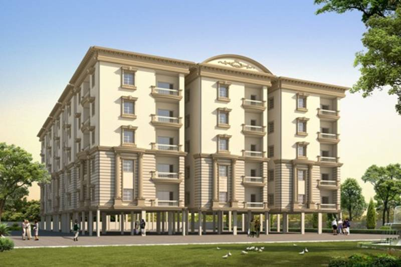 Images for Elevation of Divis Divis Palace