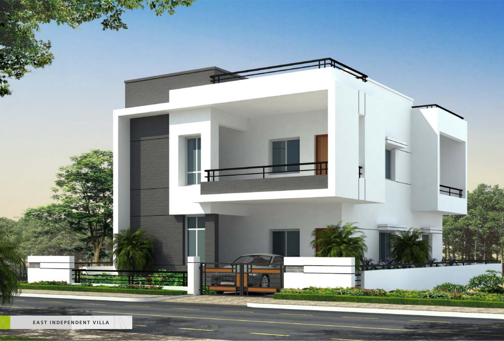 2040 sq ft 4 bhk 4t villa for sale in sree sesha sai for Villa elevation photos
