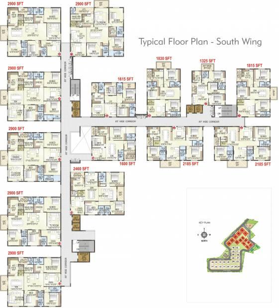 Images for Cluster Plan of MK Gold Coast