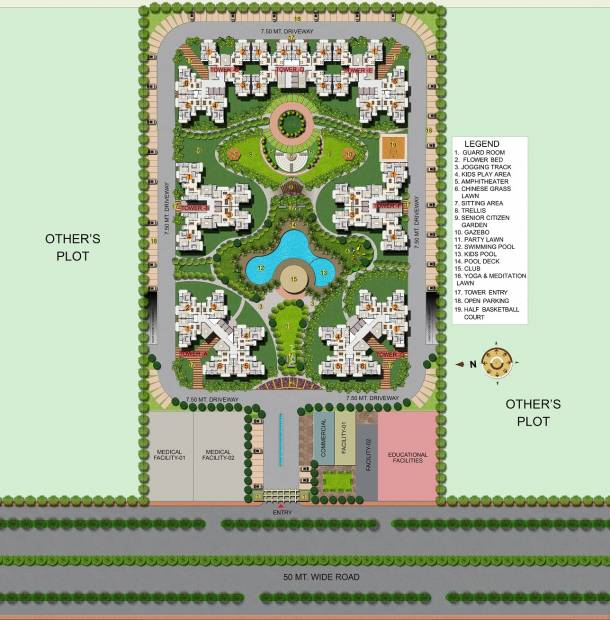 Images for Site Plan of Apex The Kremlin