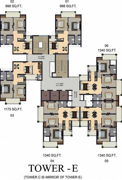 Images for Cluster Plan of Apex The Kremlin