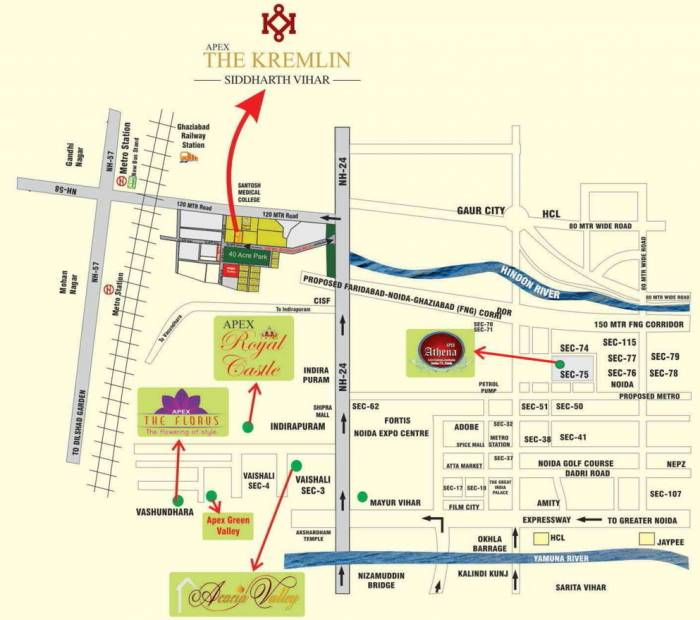 Images for Location Plan of Apex The Kremlin
