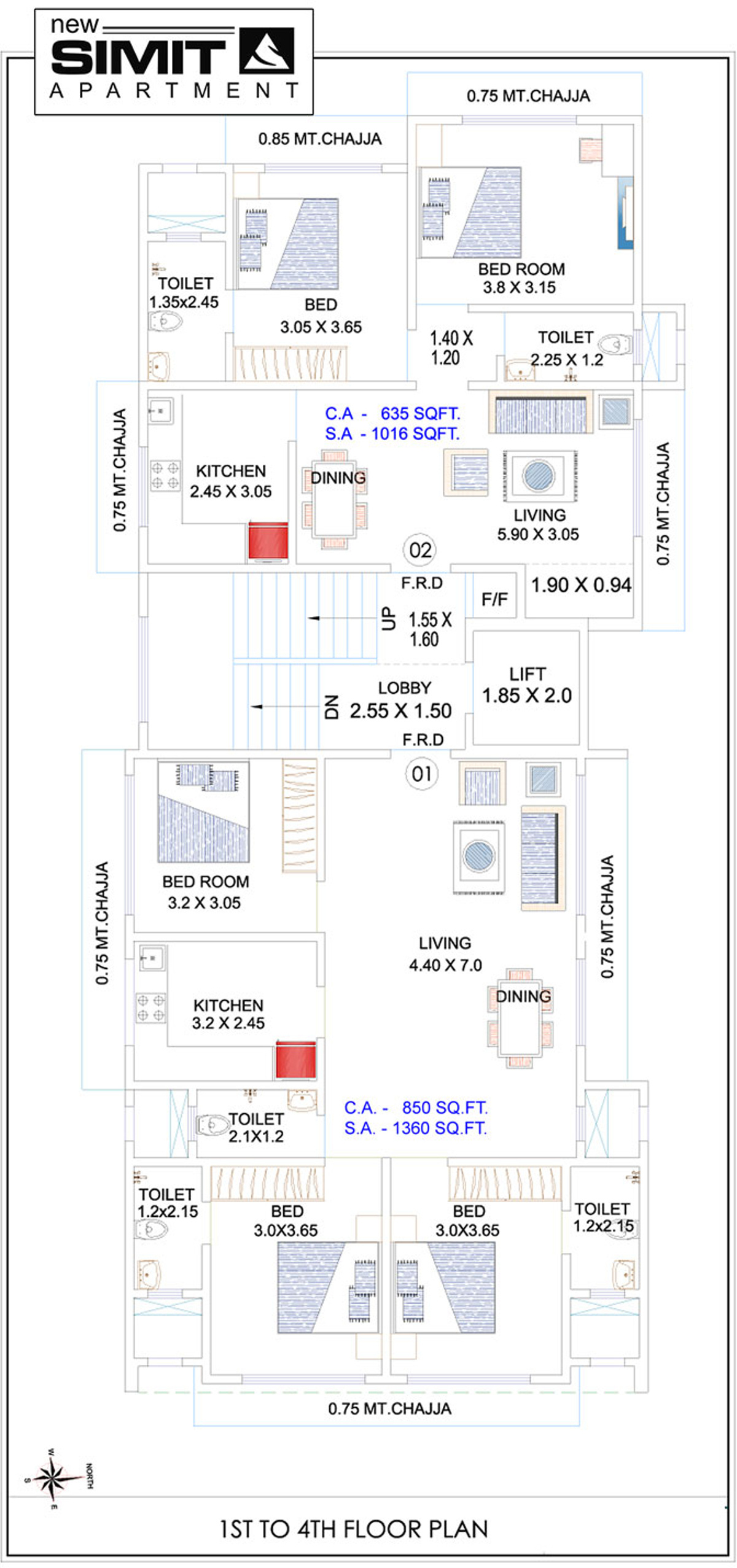 Reliable New Simit Apartment in Kandivali West Mumbai Price