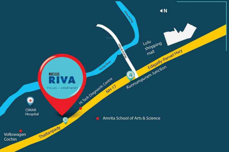 Images for Location Plan of Nucleus Riva Villas