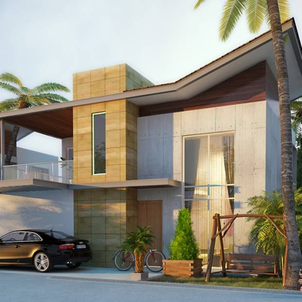 Images for Elevation of Nucleus Riva Villas