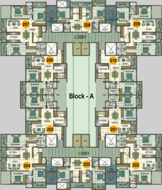Images for Cluster Plan of Comfort Heights