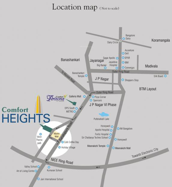 Images for Location Plan of Comfort Heights