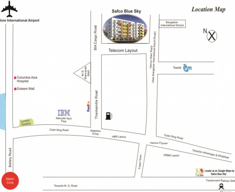 Images for Location Plan of Safco Blue Sky