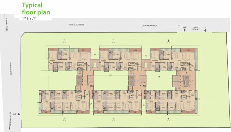 Images for Cluster Plan of Olympia Good Wood Residence