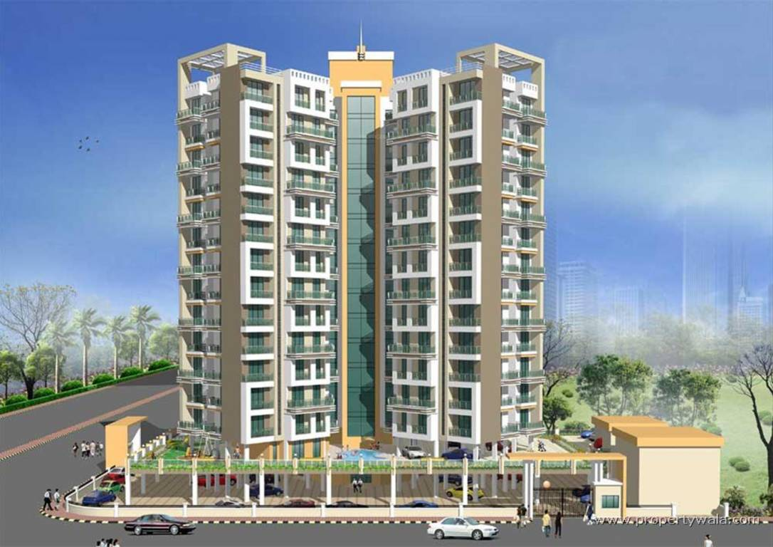 Homefront Tower Elevation : Twins tower in kharghar mumbai price location map