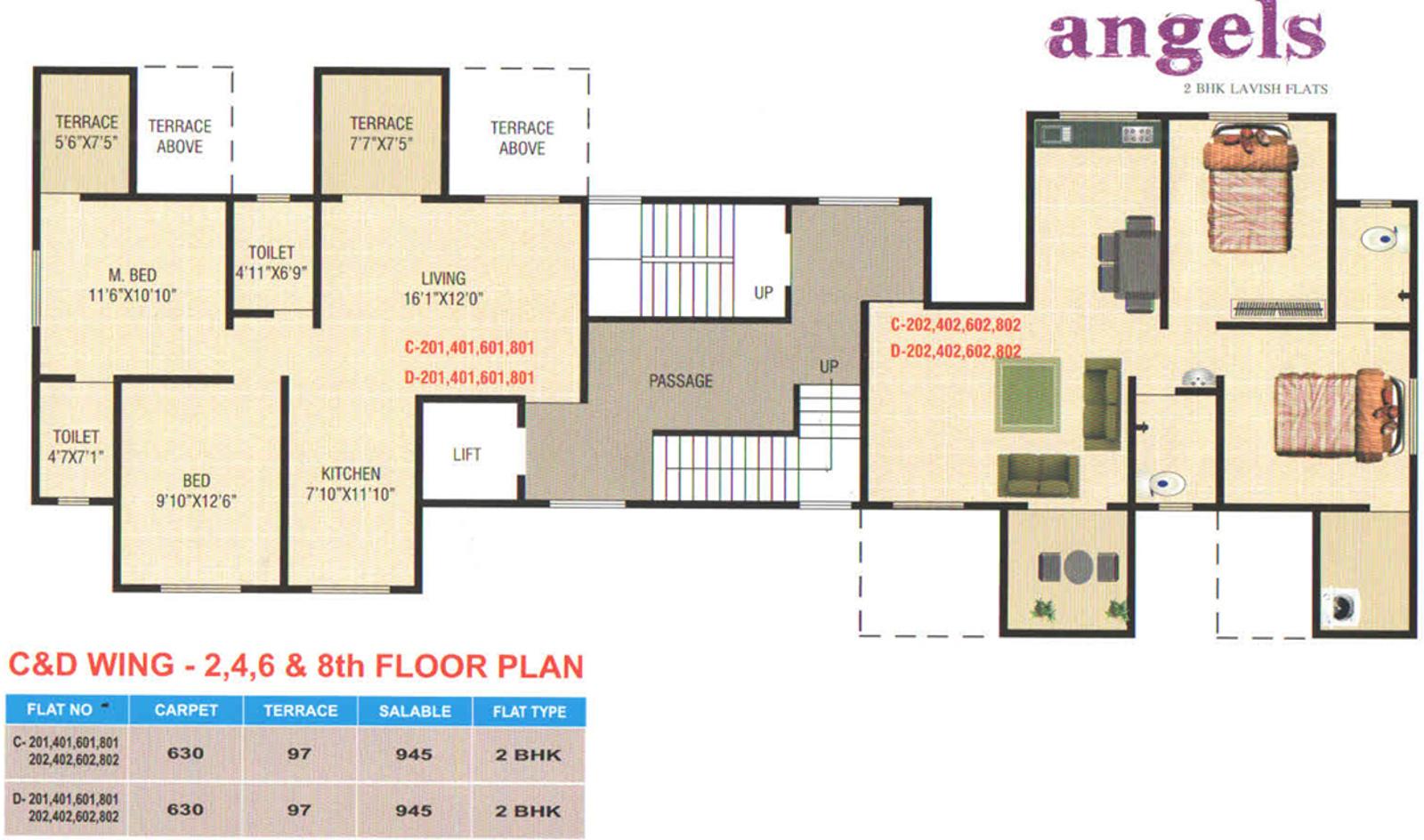 KK Angels in Rahatani, Pune - Price, Location Map, Floor