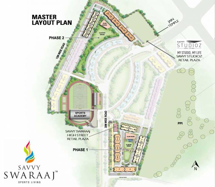Images for Master Plan of Savvy Studioz