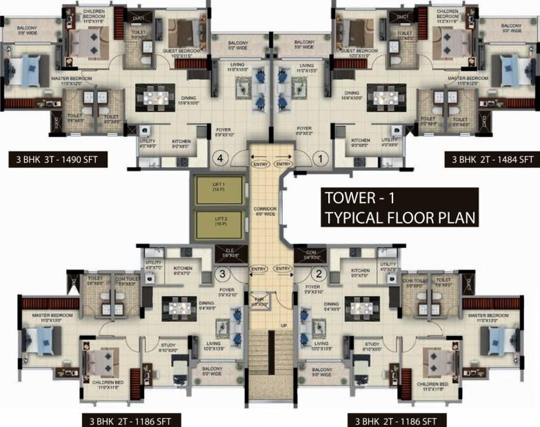 Images for Cluster Plan of Salarpuria Sattva Anugraha