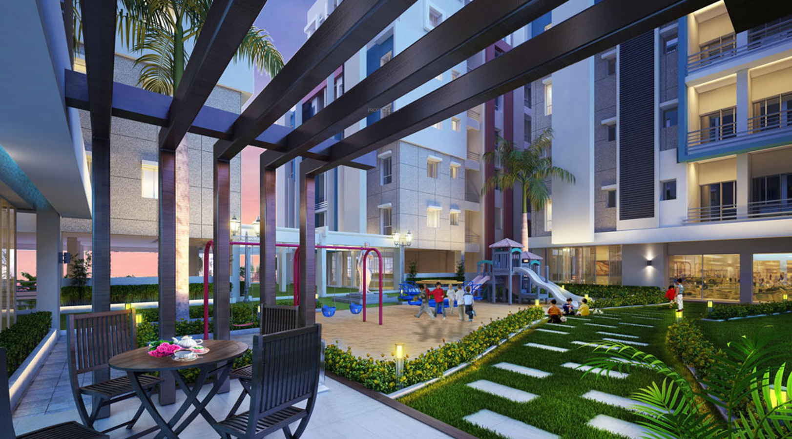 1410 sq ft 3 bhk 2t apartment for sale in akchat laxmi for 80 ft garden design