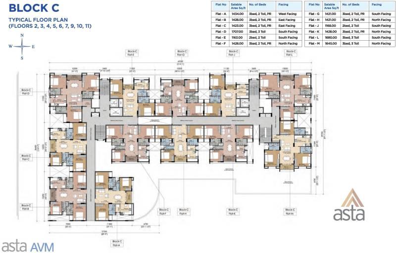 Images for Cluster Plan of Sapthrishi asta AVM
