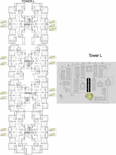 Images for Cluster Plan of Godrej Eternity