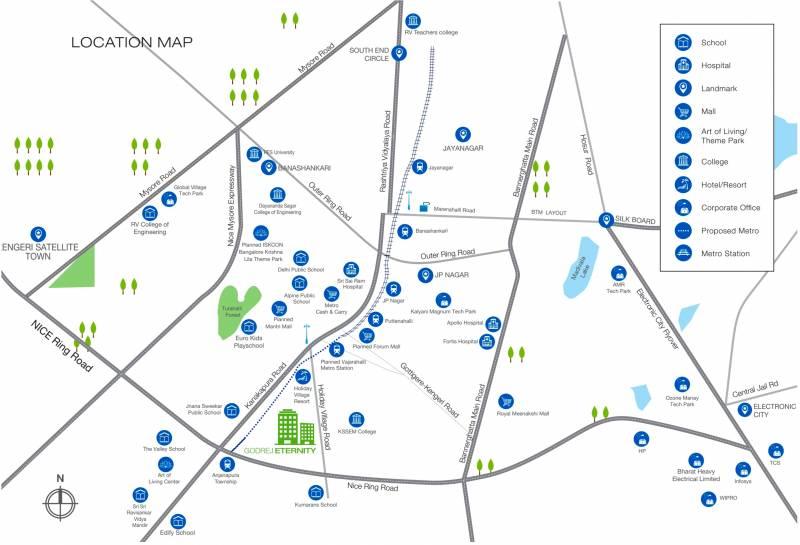 Images for Location Plan of Godrej Eternity