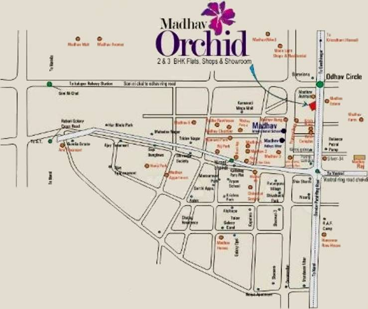 Images for Location Plan of Madhav Orchid