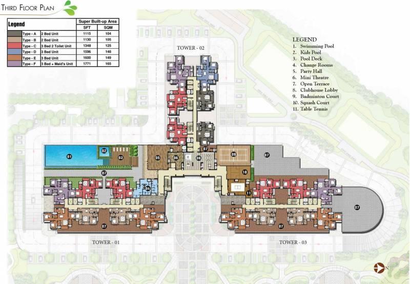 Images for Cluster Plan of Prestige Park Square