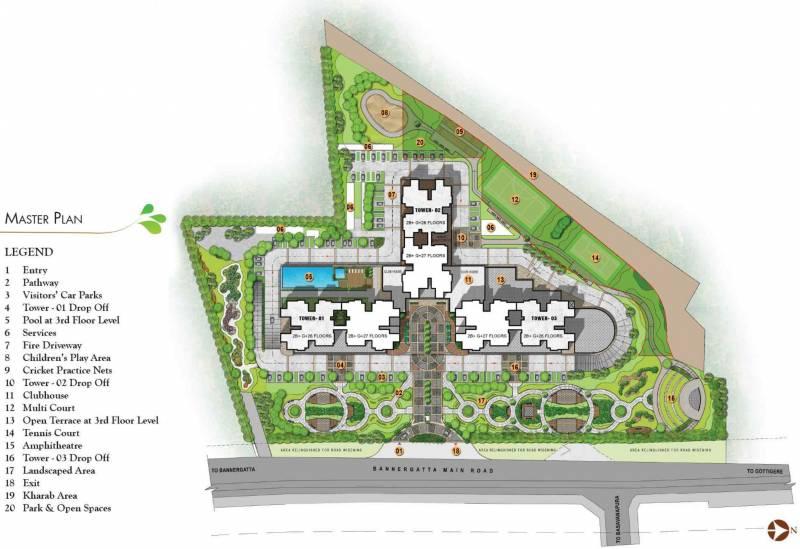 Images for Master Plan of Prestige Park Square