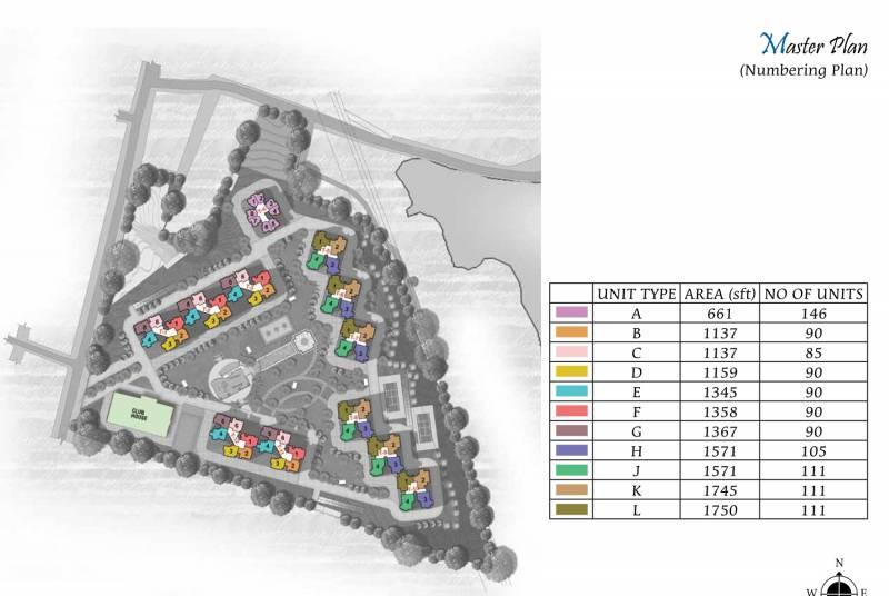Images for Master Plan of Prestige Lake Ridge