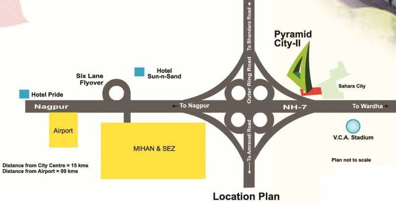 Images for Location Plan of Pyramid Pyramid City 2