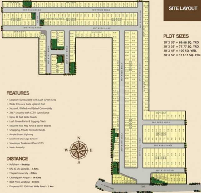 Images for Layout Plan of Ubber Kings Valley